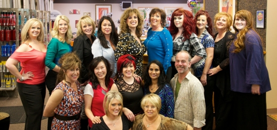 Staff Photo Stylists at Fancy Nancys' Elite Hair Designers Salon and Day Spa