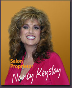 Nancy Keyslay, owner and master stylist